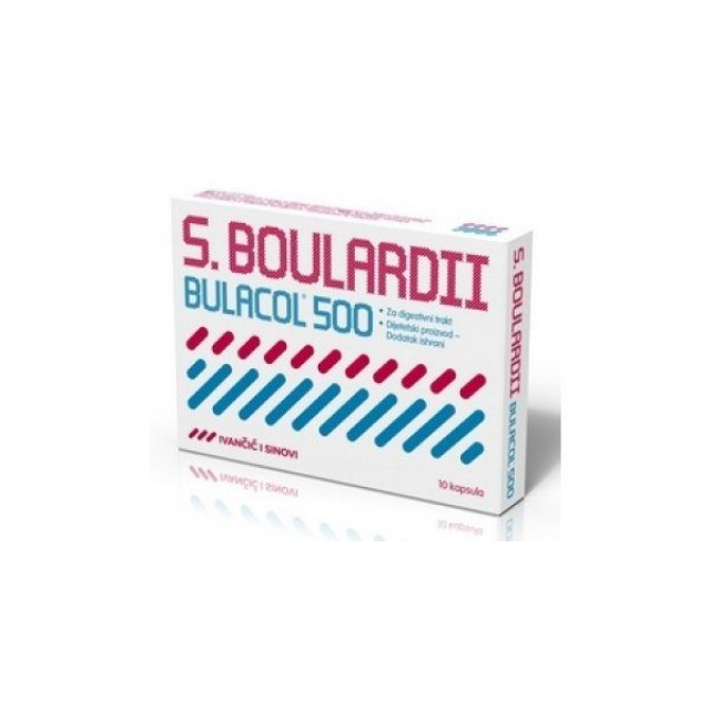 BULACOL cpsule 10x500mg     IIS