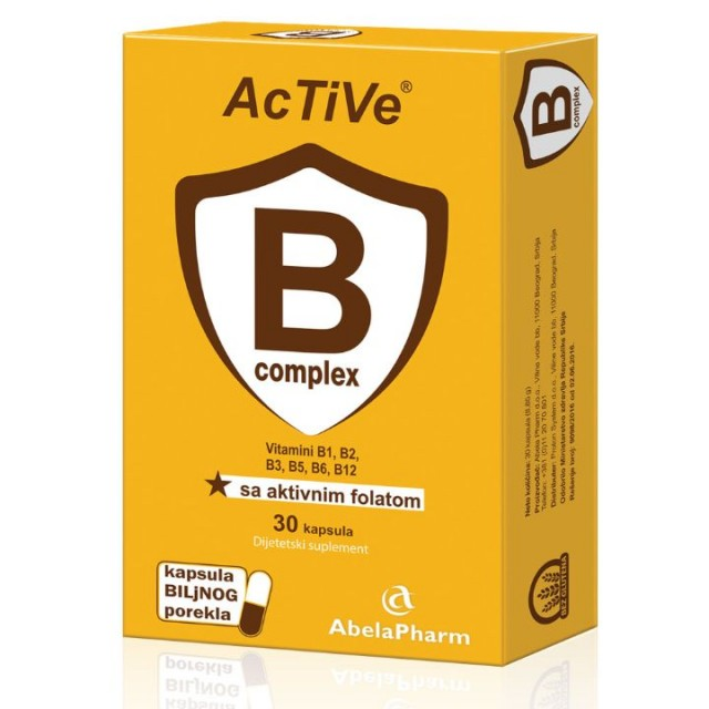 Active B complex sa aktivnim folatom