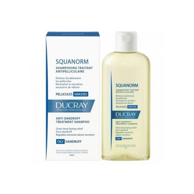 DUCRAY SQUAN šampon protiv masne peruti  200ml