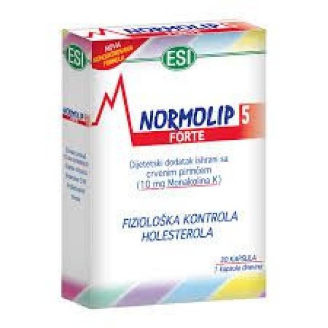 NORMOLIP 5 Forte caps. 30k