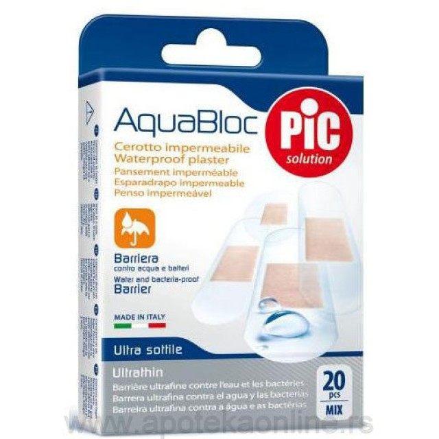 PIC Flasteri aquabloc mix 20 kom.