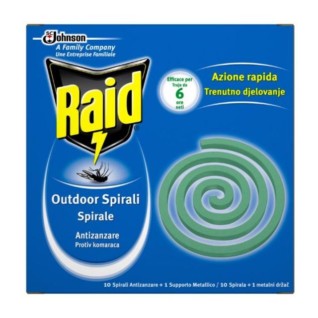RAID Spirala komarci