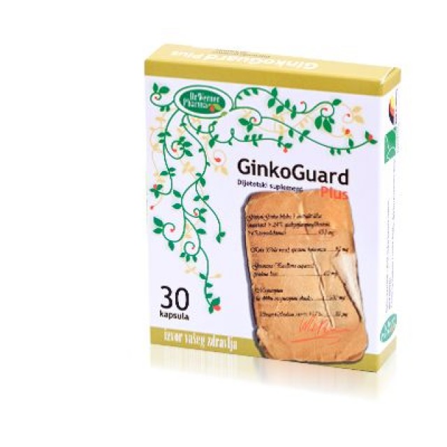 GINKOGUARD Plus cap.30x100mg