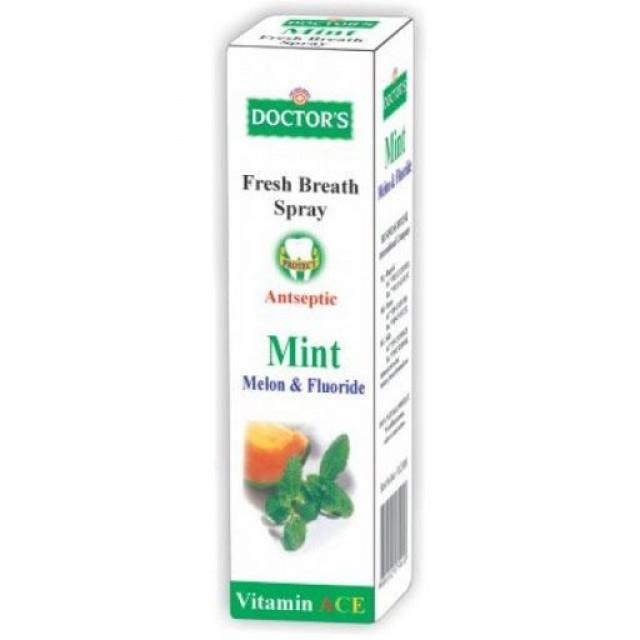 DOCTORS Sprej/usta mint