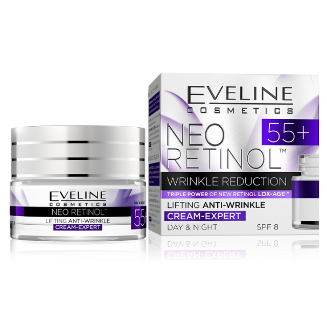EVELINE NEO RETINOL DAY AND NIGHT CREM 55+