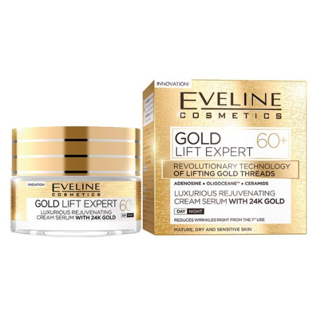 EVELINE GOLD LIFT EXPERT KREM 50ML 60+