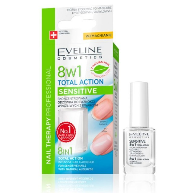 EVELINE total action 8in1 SENSITIVE 12ml
