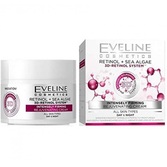 EVELINE +6 3D RETINOL DAY&NIGHT C