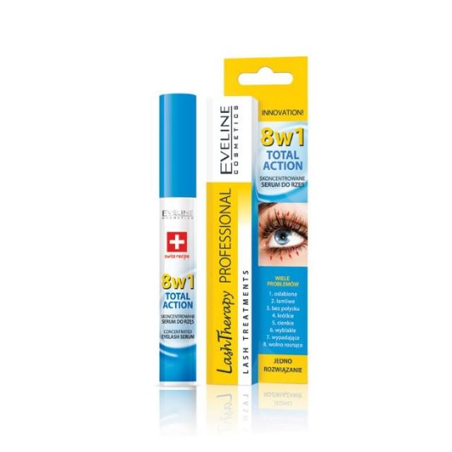 EVELINE eyelash serum 8u1