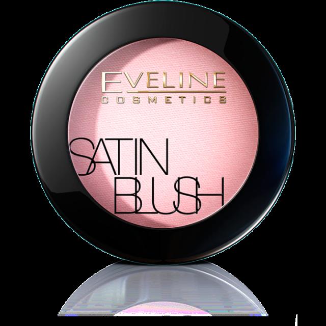 EVELINE satin blush br.01 soft pink