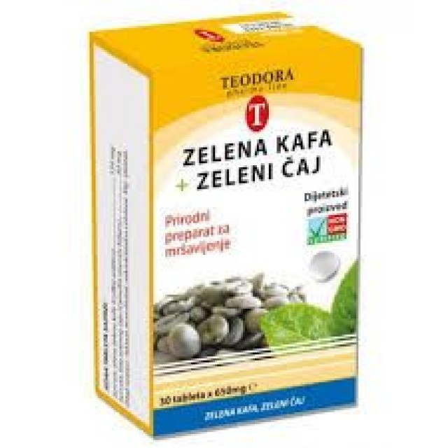 VITALON Zelena kafa+Zeleni čaj  30k